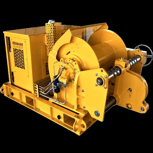 Diesel/Electro Hydraulic Winch Unit