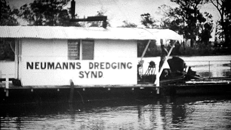 First Dredge Built in the Early 1950's