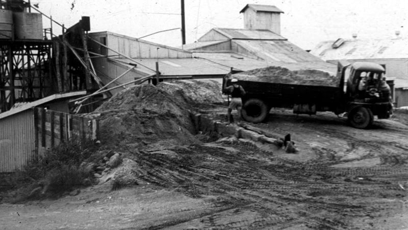 Sand Processing Plant Circa 1950's